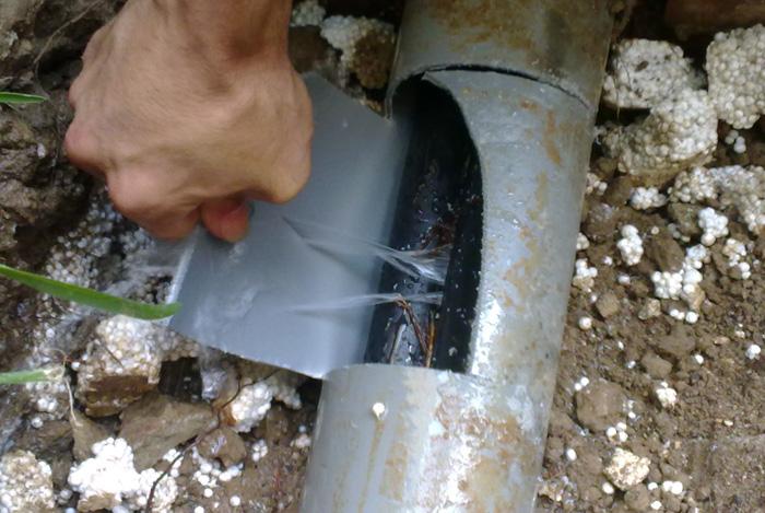 اصلاح تسربات المياه3